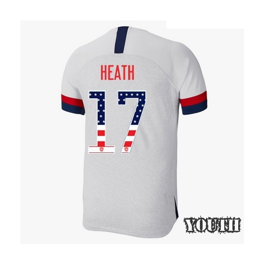 2019/20 USA Home Tobin Heath Youth Jersey Independence Day