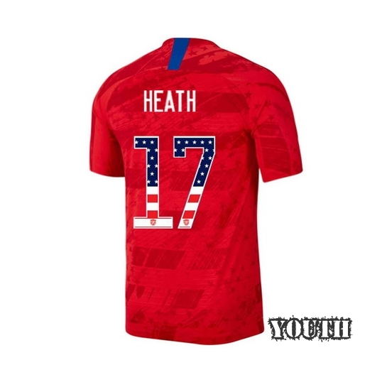 2019/20 USA Away Tobin Heath Youth Jersey Independence Day
