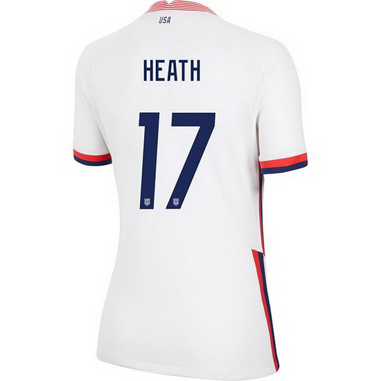 2020/21 USA Home Tobin Heath Women's 4-Star Jersey - Click Image to Close