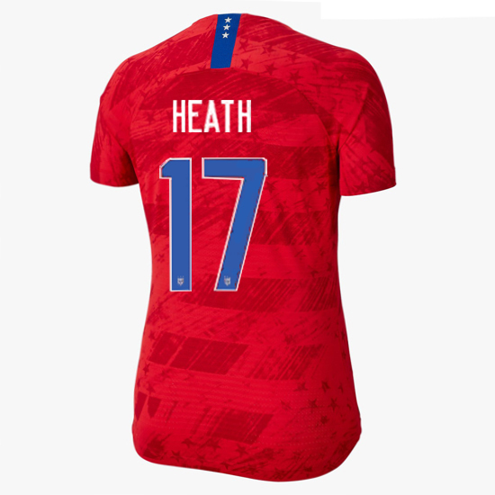 2019/20 USA Away Tobin Heath Women's 4-Star Soccer Jersey (#17)